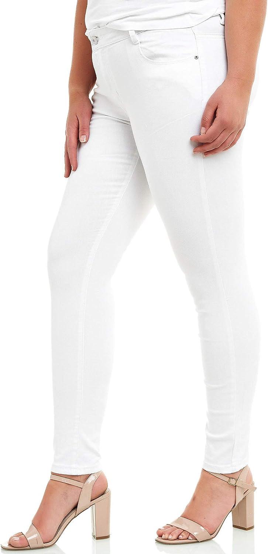Elara Jeans Elasticizzati Donna Taglie Forti Chunkyrayan