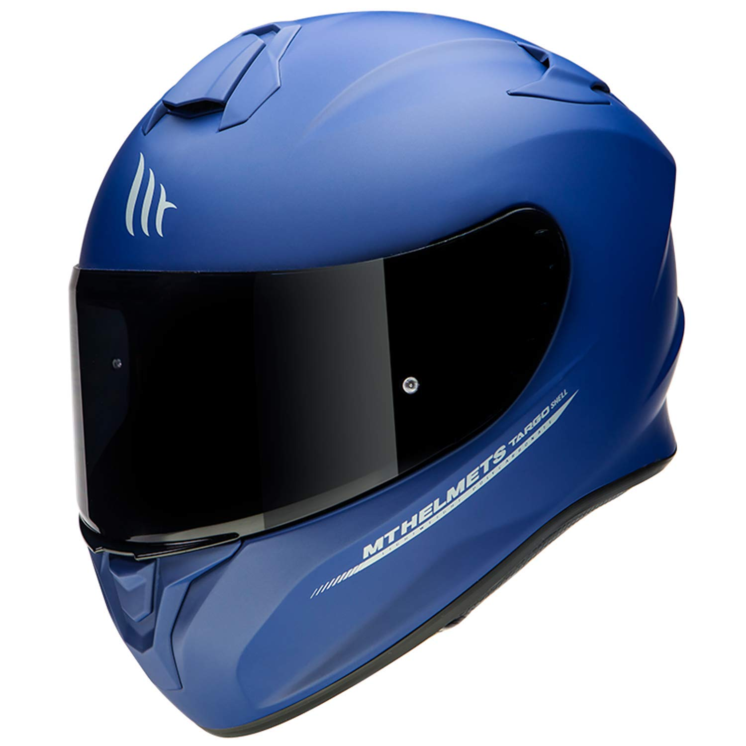 CASCO MT TARGO SOLID AZUL MATE M
