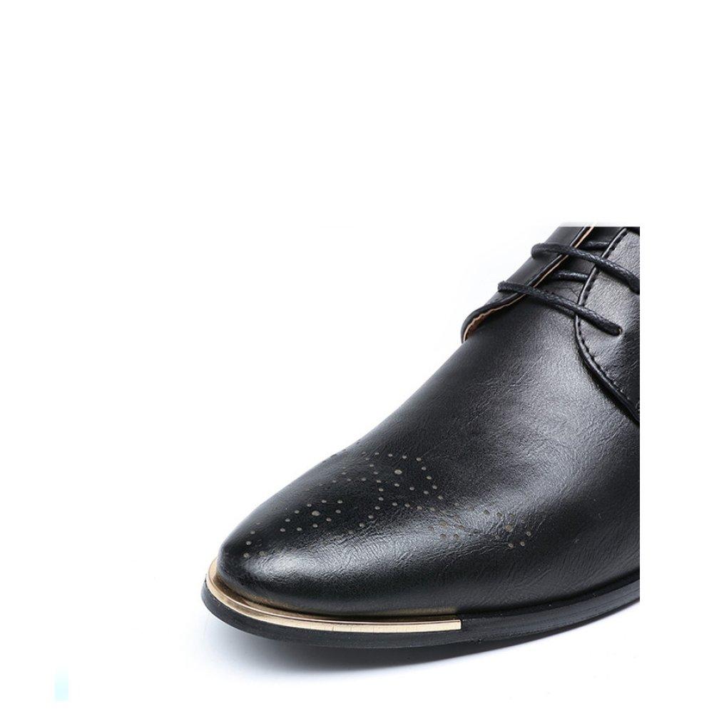 YXLONG Geschäft Brock Schuhe Herren Freizeitschuhe Geschäft YXLONG Geschnitzt Herrenschuhe schwarz 8068a7