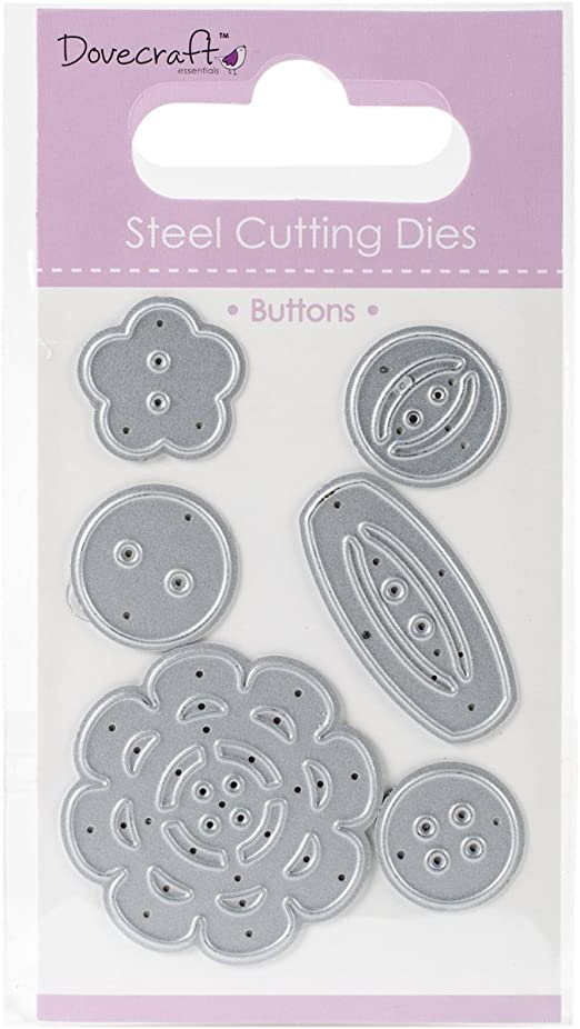 Dovecraft Buttons Cutting  Die