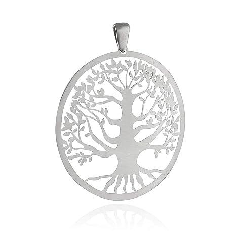 Amazon.com: Colgante de árbol de la vida – plata de ley 925 ...