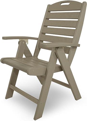 Trex Outdoor Furniture Yacht Club Folding Highback Chair