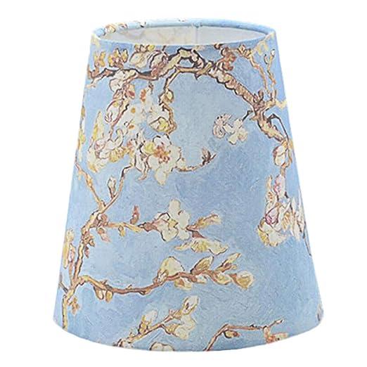 Amazon.com: Plum Blossom - Pantalla para lámpara de cono de ...