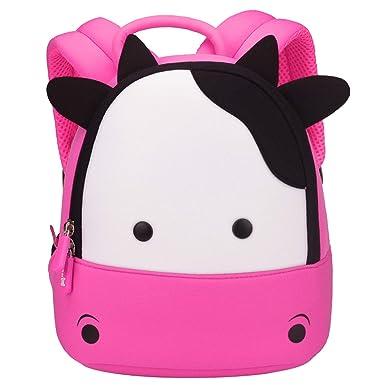 d75790435947 NOHOO Toddler Kids Backpack Child Cute Zoo Sidekick bag Preschool Cartoon  Unicorn backpack for 2-6 years