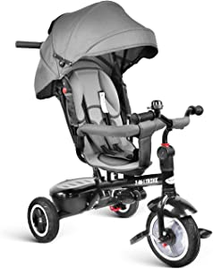 besrey Baby Tricycle 7 in 1 Kid Trike Stroller