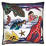 Designers Guild Christian Lacroix Santaria Saphir Throw Pillow