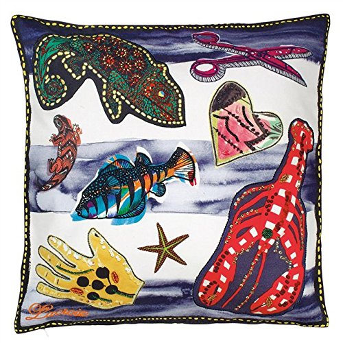 Designers Guild Christian Lacroix Santaria Saphir Throw Pillow by Designers Guild