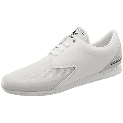 best website af1be cb376 adidas Mens Porsche Typ 64 Sport White Mesh Designer Trainers Shoes (UK 9)