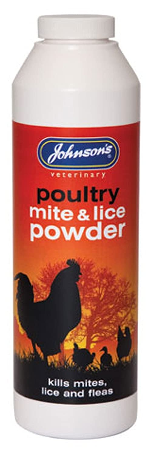 (2 Pack) Johnsons Vet - Poultry Mite & Lice Powder 250g