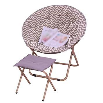 Folding chair Silla Plegable Silla de Luna Silla de Hierro ...