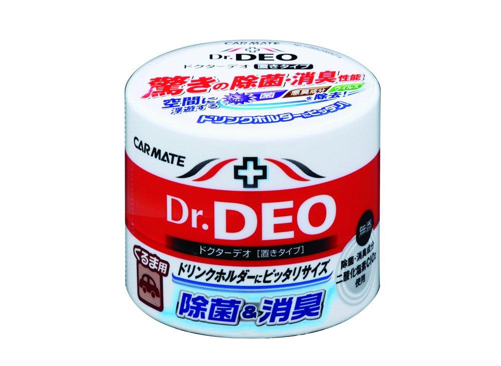 カーメイト 車用 除菌消臭剤 ドクターデオ Dr.DEO 置き型