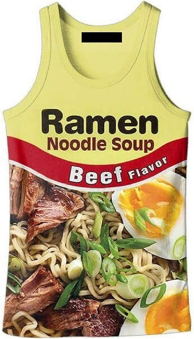 Unisex Ramen Noodle Chicken Camisetas de Tirantes, Pantalones de ...