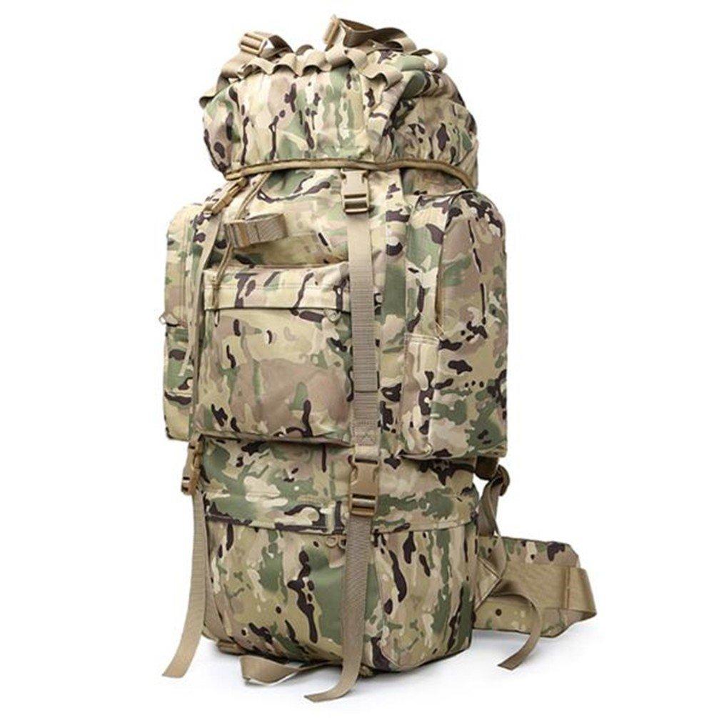 Rucksack Reise Super Capacity Travel Tactical Rucksack Camouflage Bergsteigen Tasche Schulter für Männer und Frauen, ACUB, 65L B07FDBSZZZ Trekkingruckscke Moderne und elegante Mode