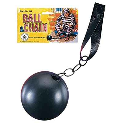 Rubie's Costume Co 695 Ball and Chain Costume, Standard, Multicolor: Toys & Games