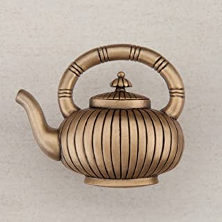 product image for Acorn Manufacturing DQCGP 1.5 x 1.75 in. Artisan Collection Teapot44; Museum Gold