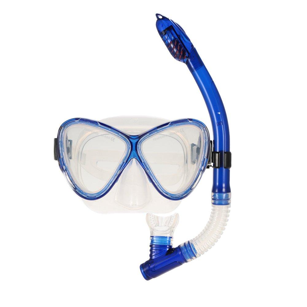 新しいコレクション B07B8QG7N9ダイビング大人男性と女性のスキューバダイビングゴーグルクリアマスク付き防水マスクパノラマビュー強化ガラスレンズ息呼吸の簡単なドライスノーケリングギアセット B07B8QG7N9, ソウベツチョウ:f76f4b03 --- chkmb.ru