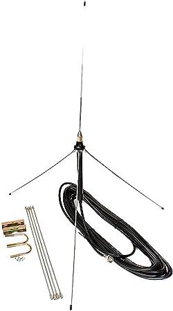 15 m Cable potente 1/4 longitud de onda GP antena para 0,5 ...