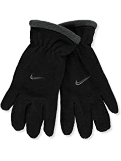 49ba640d5f1 Amazon.com  NIKE Fleece Beanie   Gloves Set (Big Boys  One Size ...