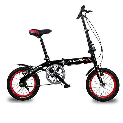 XQ Doblez Bicicleta Velocidad No Variable Muy Ligero Hombres Y Mujeres Adulto Niño Coche Plegable 14