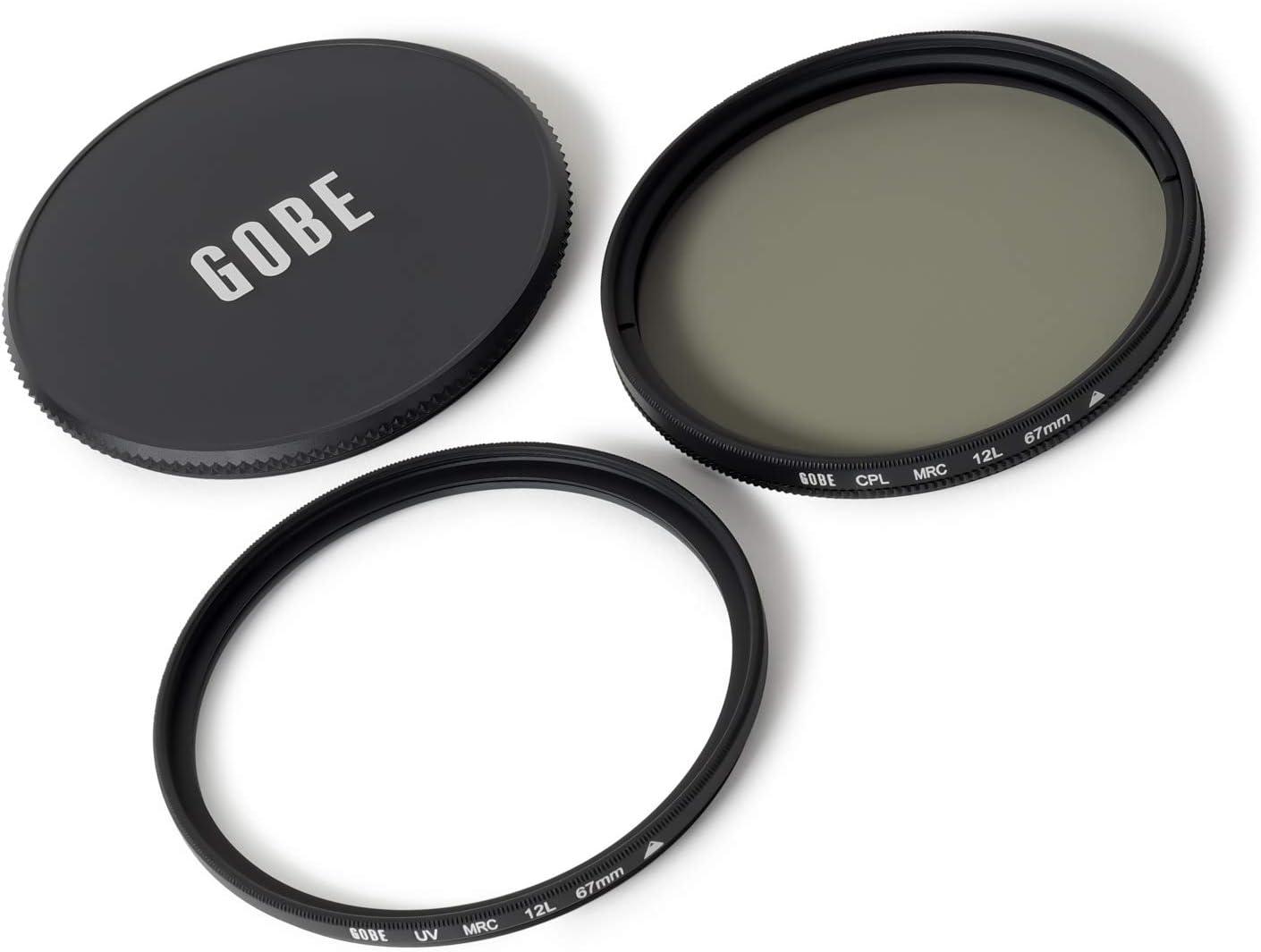 1Peak Circular Polarizing Gobe 40.5mm UV CPL Lens Filter Kit