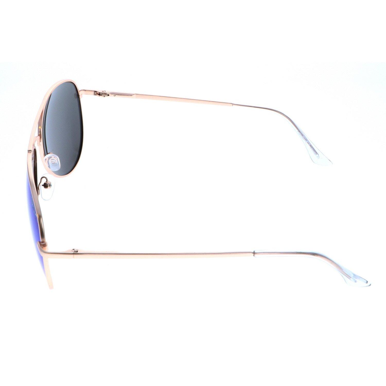VertX hombres polarizan Aviator gafas de sol clásicas lágrima Color espejo - Lente azul: Amazon.es: Zapatos y complementos