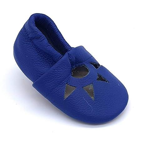 LePeppe Pantofole Scarpe Sandali Bambino Antiscivolo Morbida Pelle - Prima  Infanzia - Neonato - Battesimo - 19035195eb2