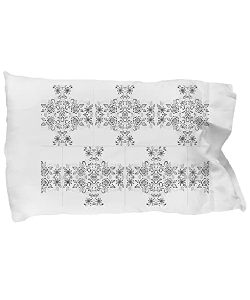 Amazon.com: DIY adult coloring pillowcases with floral patterns ...