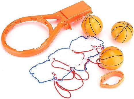 Tnfeeon Juego de aro y Pelotas de Baloncesto de Juguete para niños ...