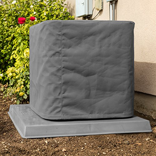 SugarHouse Outdoor Air Conditioner Cover - Ultimate Sunbrella Canvas - Made in The USA - 20-Year Warranty - 34