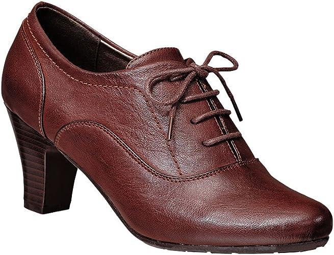 Adult Ava Lace-up Bootie Dress Shoes