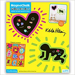 Mudpuppy Keith Haring MagnaChalk Wall Decals: 9780735342996: Amazon.com:  Books Part 58