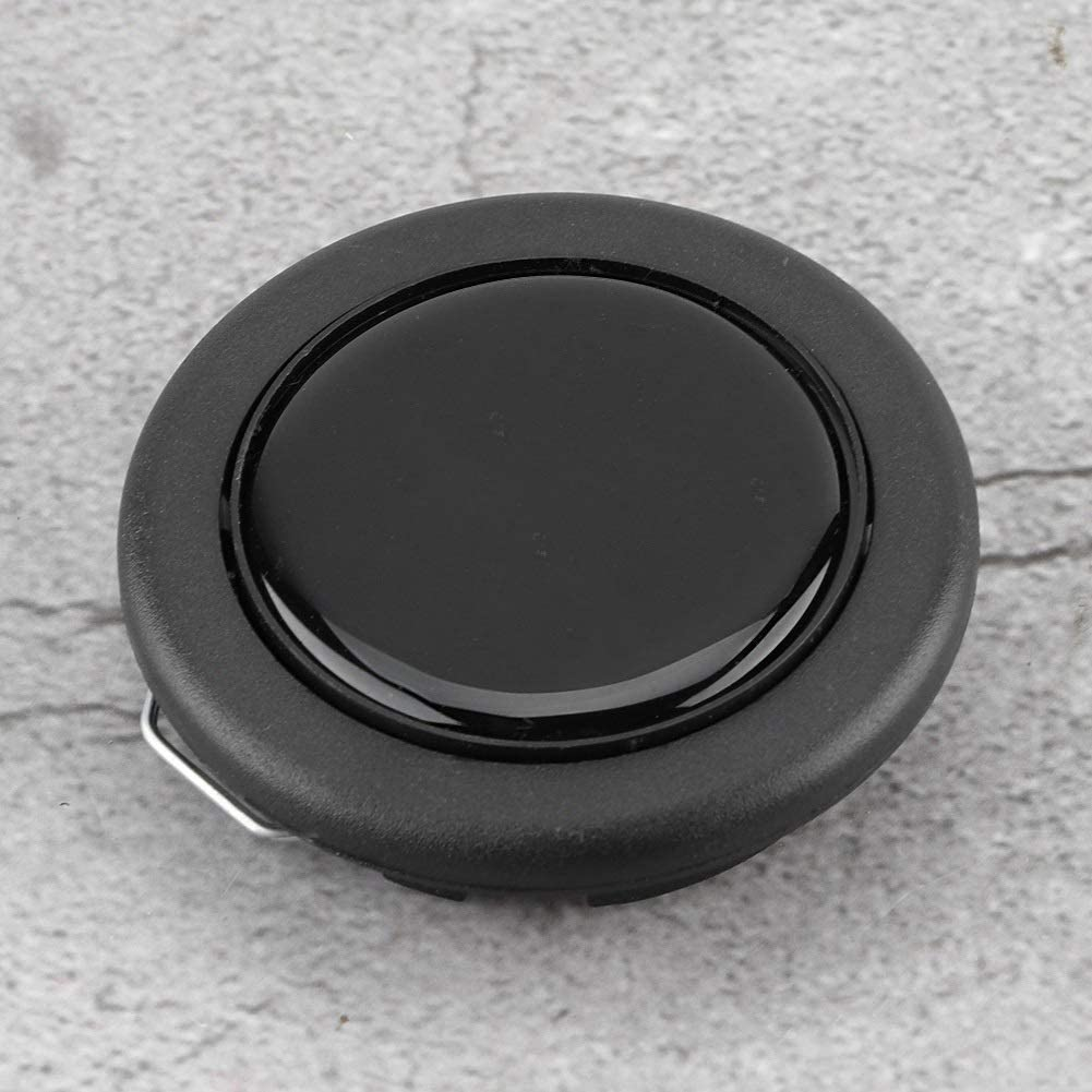 Pulsante clacson for volante Sostituzione del pulsante clacson for volante modificato in plastica universale in metallo