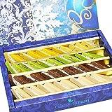 Ghasitaram Gifts Diwali Gifts Sweets - Pure Assorted Kaju Katlis 400 gms