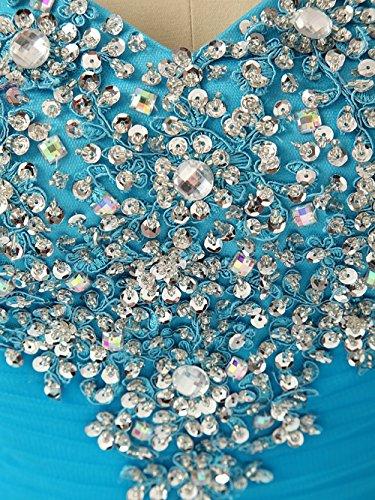 Vestito Palla Tutu Del Di Abito Ritorno Di A Delle Nuziale Della Vestito Blu Casa Annie Di Da Sera Donne Promenade 6qtSEOtwT
