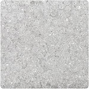 BEADTIN Crystal Clear Transparente 4mm facetado redondo Craft cuentas (1250pc)