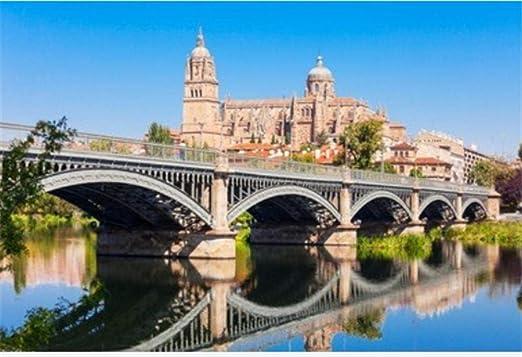 ZZXSY 1000 Puzzle Piezas Adultos La Catedral De Salamanca Es Una Catedral del Gótico Tardío Y