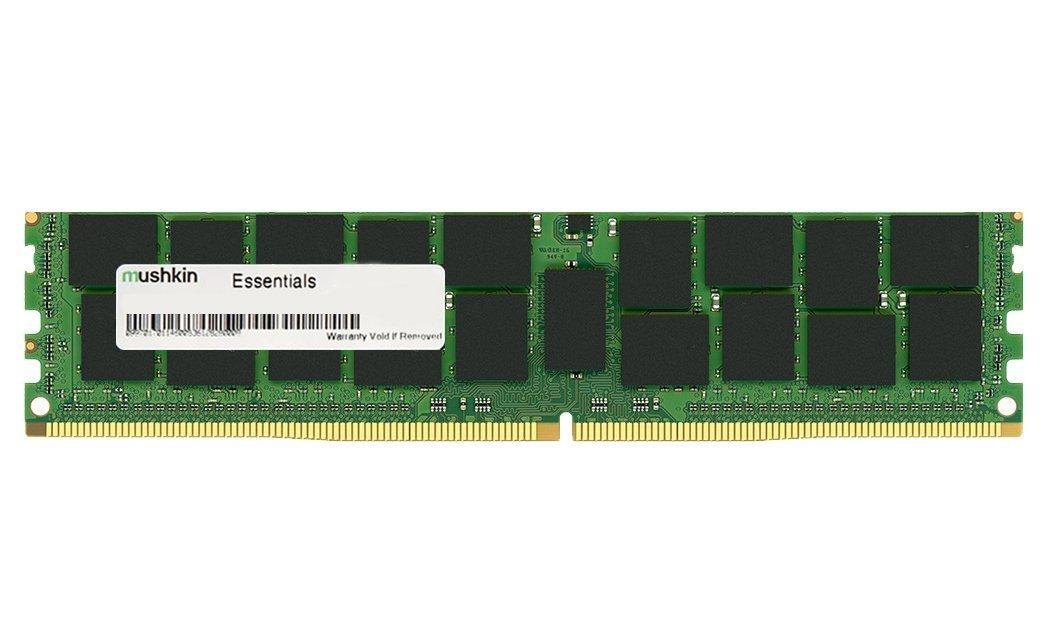 Mushkin Essentials 4GB DDR4 4GB DDR4 2133MHz Memory Module - Memory Modules (4GB, 1X4GB, DDR4, 2133MHz, 288-pin DIMM, Black, Green)
