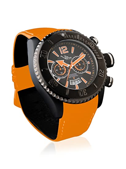 VIP TIME ITALY Reloj con movimiento cuarzo japonés Man VP5012OR_OR 50 mm: Amazon.es: Relojes