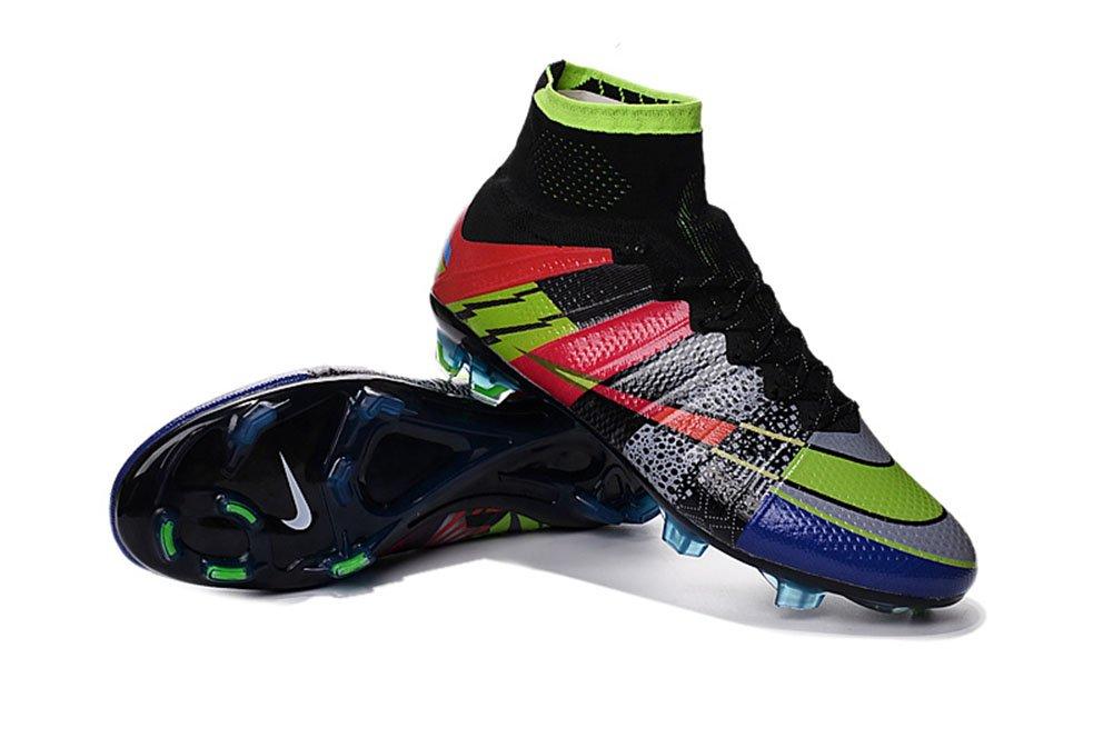 Demonry Schuhe Herren Mercurial superfly Rainbow Fußball Fußball Stiefel
