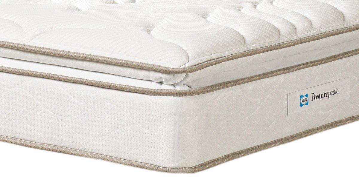 Sealy Posturepedic colchón Suave de Lujo - - rondador Rowen tensión, Matrimonio Super (180 x 200 cm): Amazon.es: Hogar