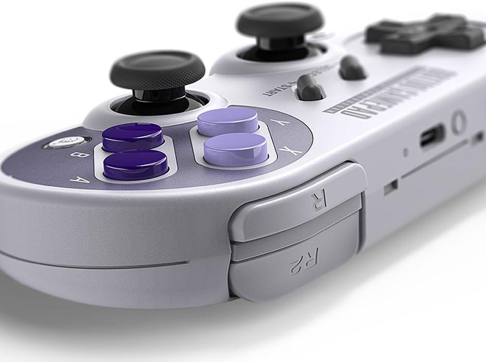 8bitdo Sn30 Pro Bluetooth Gamepad Controller For Android Windows Mac Os Nintendo Switch Sn30 Pro Amazon Ca Electronics
