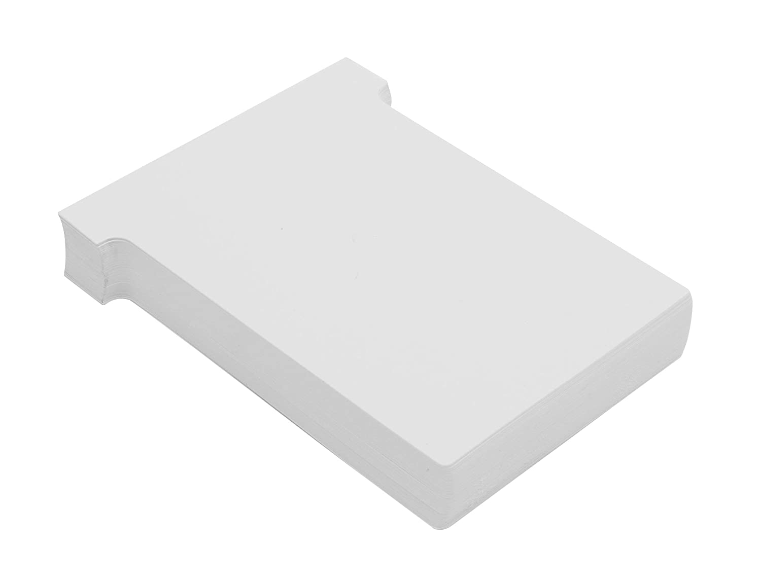 Nobo T-Cards A110 White Size 4 Pack of 100