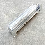 "12""/15""/18"" silver Anodized Single Pass 2 Dual Pass Transmission Oil Cooler With Fitting (12"")"