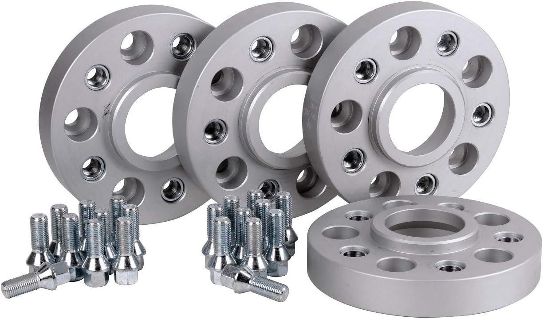 Hofmann Spurverbreiterung Stahl 4 Stück 25 Mm Pro Scheibe 50 Mm Pro Achse Inkl TÜv Teilegutachten Auto
