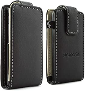 Proporta iPod Nano 7G Flip Tough Protective Case Cover Matte Faux Leather Style PU Pleather with Lifetime Exchange Warranty - Black