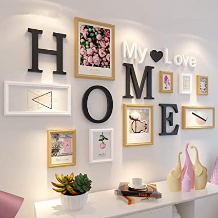 Amazon Com Picture Frames Photo Wall Pastoral Letter Bedroom