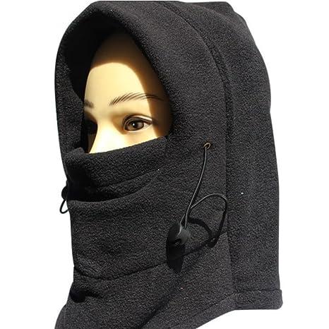 NNIUK 3 in 1 Warm Thick antivento Sottocasco Hood completa di sci del panno  morbido termico 5a785f843a37