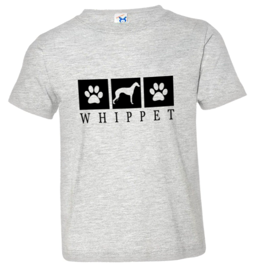Toddler Whippet Paws I Love My Dog Cat Lover HQ Tee Shirt