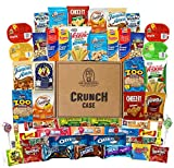 Mega Snacks (50 Count) Variety Care Package Gift Box – College Students, Military, Work or Home – Over 3 Pounds of Snacks!