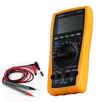 Pathson VC-99 Probador digital manual Multímetro Termómetro Resistencia DC y AC, DC y